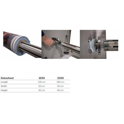 Automatyczny odwijak / przewijak do rolek Jumbo do 300/1000 kg